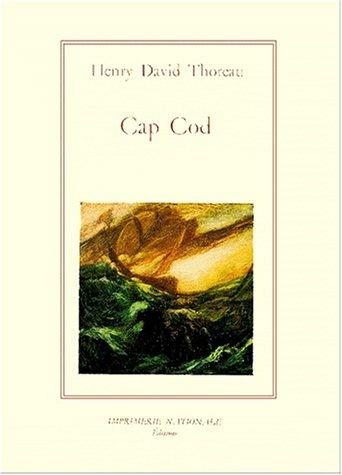 Cap Cod par Henry-David Thoreau