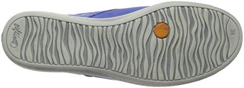 Softinos Indira Washed, Baskets Hautes Femme Blau (Lavender Blue)