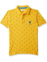 USPA Kids Baby Boy's Plain Regular fit T-Shirt
