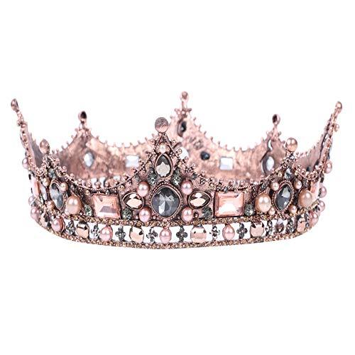 Strasssteinen, Kunstperlen, Mittelalterliche Prinzessin Königin Krone, Hochzeit ()