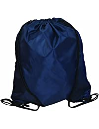 Durable 420 Denier Drawstring Sports Bag Durable & Stylish, Navy Bags For LessTM