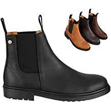 Chelsea Boot »NEW WORK« bequeme Stiefelette aus Rindsleder Made in Portugal  | Reitschuh mit