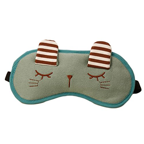 JUNGEN Schlafbrille Schlafen Nettes häschen Schlaf Kalt Warmhaltepackung Gemütlich Daydream Augenmaske Schlafen Masken