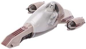 Hasbro - 20794 - Vehicule Miniature + Figurine - Clone Wars - Freeco Speeder + Clone Trooper