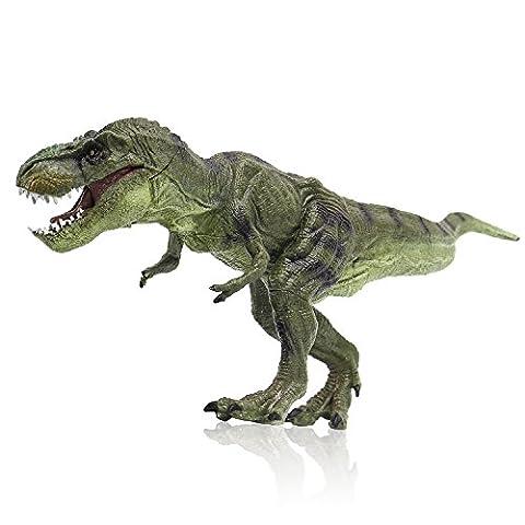 Zooawa Tyrannosaurus Rex Dinosaurier Figur Spielzeug - hellgrün