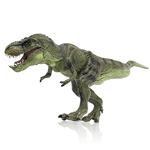 Zooawa Tyrannosaurus Rex Dinosaurier Figur Spielzeug - hellgrün (Kinder Lizard Kostüme)