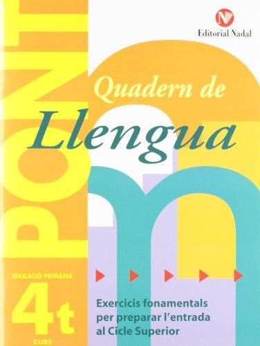Pont. Quadern De Llengua. Canvi De Curs 4 (Pont (canvi De Curs))