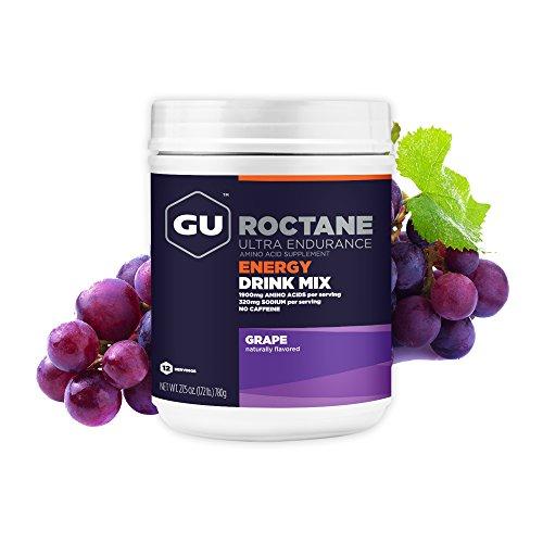 GU Roctane Ultra Endurance Energy Drink, Grape (Weintraube) - Kohlenhydrat-Electrolyte-Getränkepulver, 780 g Dose