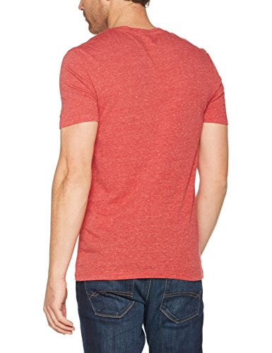 Celio Herren T-Shirt Vebasic Rouge (LUMBER RED)