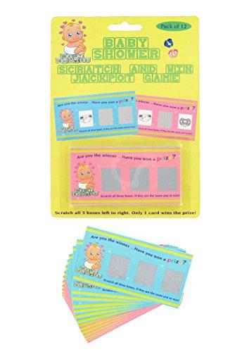 Alandra Party Baby Dusche Kratz Karte