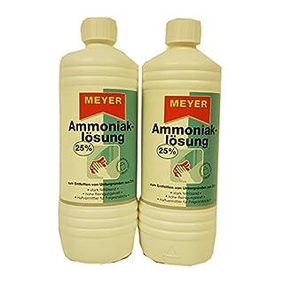 2 x 1 L Meyer Ammoniak-Lösung 25 % 2 Liter