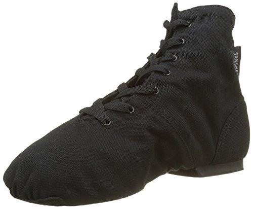 Sansha b62lpi boomelight zapato de Ballet Zapatillas b-sole para adultos mujer, Mujer, color negro, tamaño FR : 43.5 (Taille Fabricant : 43.5)