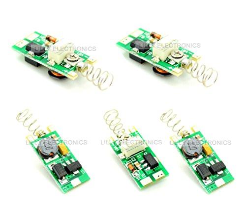 q-baihe 3–5V Netzteil Treiber für 5–100mW 405nm violett/blau Laser Diode Modul (Mw Laser 100)