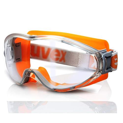Duhongmei123 Mode Brillen Fahrrad staubdicht und Winddicht Sandschutzbrille Anti-Schock-Schutzbrille, chemische Schutzbrille, Occhiali (Color : Orange)