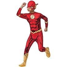 Disfraz de Flash Traje de niño flash L 140 cm años 8 - 10 Outfit superhéroe infantil Vestimenta héroe marvel Vestido de héroe niños Atuendo carnaval chicos