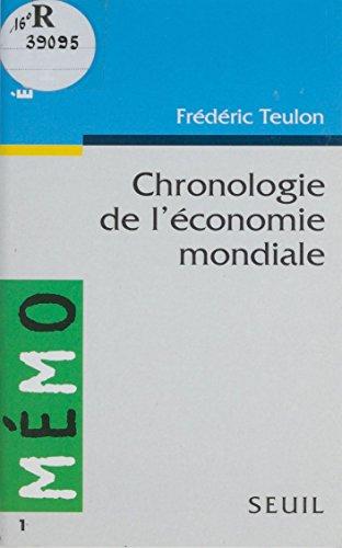 Chronologie de l'économie mondiale