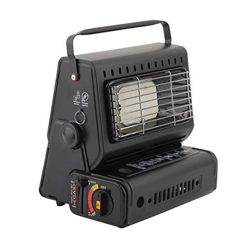 Funnyrunstore bruciatore portatile stufa di riscaldamento riscaldatore di gas scaldino di campeggio riscaldamento stufa a gas per campeggio invernale pesca all'aperto