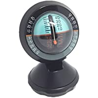 Katech coche ángulo slope Level Meter Finder Herramienta Degradado Balancer inclinómetro coche al aire libre equipo de medición de inclinación