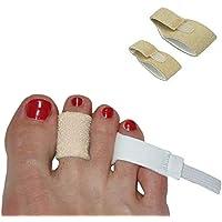3pp Zehenschlaufen – Bietet gepolsterte Entlastung für Hammerzehen, Krallenzehen, überlappende Zehen und Brüchen... preisvergleich bei billige-tabletten.eu