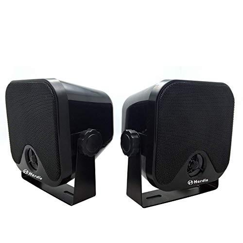 Wasserdichte Marine-Lautsprecher 100Watts Wandmontage 4-Zoll-Box-Lautsprecher Wasserdicht IP66 für Boat Spa ATV UTV Badezimmer