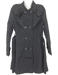 Damen Trenchcoat in klassischem Style, Modelle mit und ohne Kapuze (abnehmbar)