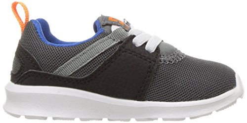 DC - - Jungen Heathrow Low Top Freizeitschuh Grey/Blue