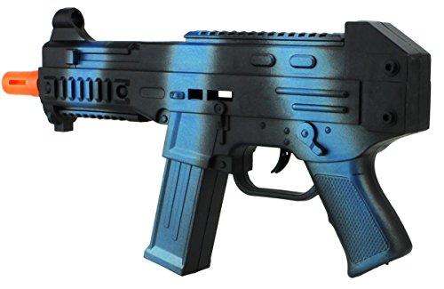 Rattergewehr Spielzeug Gewehr Weapon Gun Camo Maschienenpistole Fasching Spielen Verkleiden Blueline