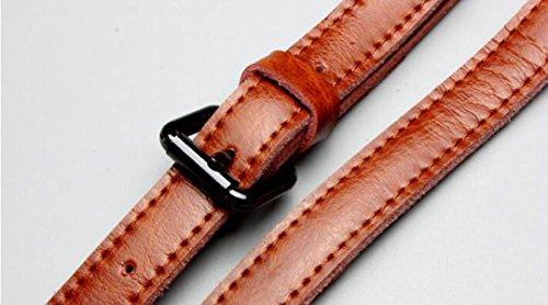 ZPFME Handtasche Der Frauen Leder Handtasche Kollokation Handtasche Schultertasche Kuriertasche Damen-Tasche Brown