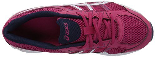 Asics Unisex-Child Gel-Contend 4 GS Shoes, 5 UK, Cosmo Pink/White/Indigo Blue