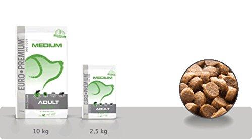 beduco secs Euro Premium Finest Selection Medium Adult testé + pour chiens 2,5kg