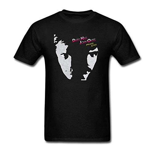 QHWHTX® Men's Hall & Oates Private Eyes Custom Cool Tee Shirts