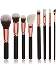 Pinceau de maquillage,Vidlan 8 pcs brosse cosmétiques