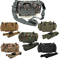 Tactical Waist Pack Military Camping Hiking Sport Bag --- Color:Jungle camouflage