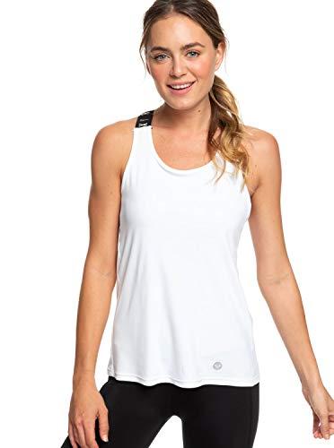 Roxy Damen Lets Glow Knit Top, Bright White, L -