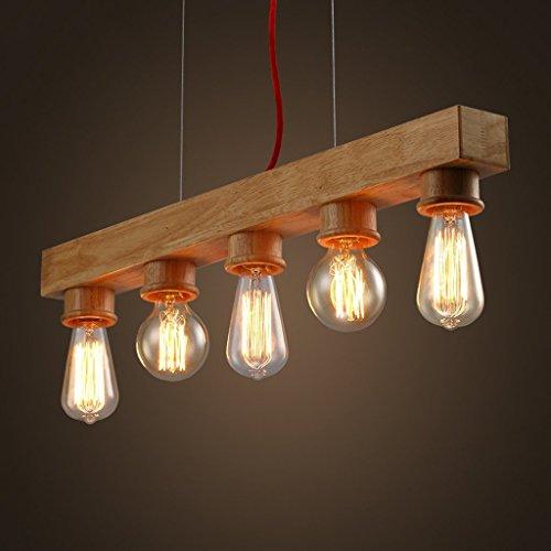 MoMo Edison Native Wood Handmade Holz Kronleuchter Hängeleuchte Pendelleuchte -