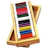 Jnanamudra Montessori Sensorial Colour Box Secondary (Wooden Tablets With Wooden Box)
