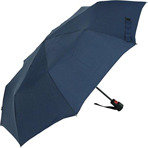 Knirps Regenschirm Fiber T1 Automatik - Sturmsicher Navy-blau