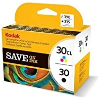 Kodak Original No 30 Combo Black/Colour Ink Cartridge Pack