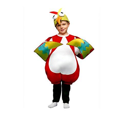 Imagen de disfraz de pájaro loco para niños de 7 a 9 años
