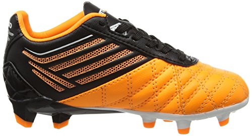 Umbro Medusæ Premier Hg Jnr, Chaussures de Football Garçon Orange (Epy Orange Pop/White/Black)