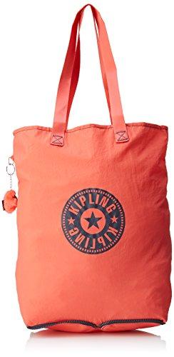 Kipling Damen Hip Hurray 5 Tote, 40,5x40,5x14,5 Cm Arancione (galaxy Orange)