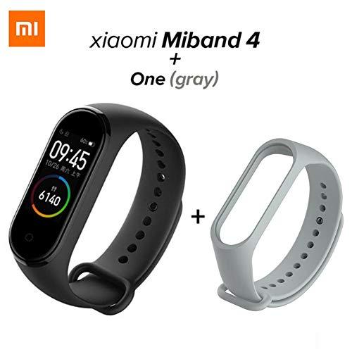 Nrkin Xiaomi Mi Band 4 Fitness Tracker 50m Impermeabile Smart Band Smartband Display OLED Touchpad Monitor Braccialetti Braccialetto 5.0 Versione Standard
