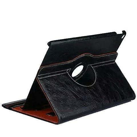 2017 iPad hülle, Avril Tian 360 Grad Drehbare Multi Winkel Display Magnetisch Schutzhülle Flip Cover Folio Ständer Smart Fall Case für Apple New iPad 2017 9.7 Zoll Tablette