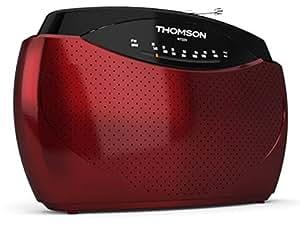 Thomson RT223 Radio Portable FM/MW Rouge
