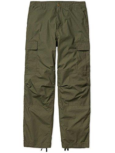 CARHARTT WIP - - Homme - Pantalon Cargo Relaxed Fit Elastiqué Columbia Vert Lavé pour homme Vert
