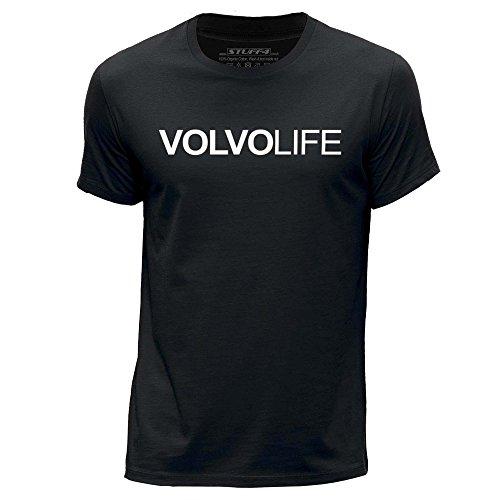 stuff4-herren-xx-gross-xxl-schwarz-rundhals-t-shirt-auto-leben-liebe-volvo