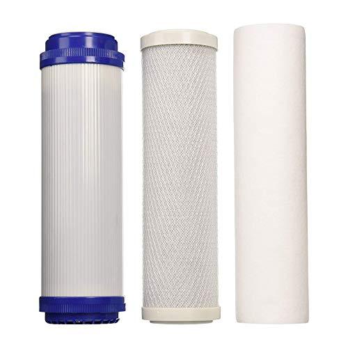 Universal 5-Stufen-Umkehrosmose-Ersatzfilter Set - Standard 10 Zoll -
