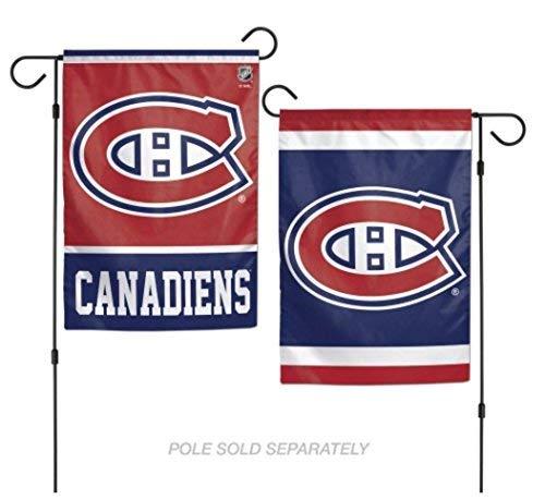 Wincraft Snack-Schale NHL Montreal Canadiens 31,8x 45,7cm Zoll beidseitigen Logo Garten Flagge Dallas Stars Hockey Logo
