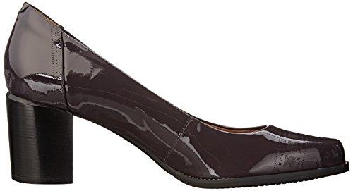 Pompe Clarks Tarah Plateforme Sofia Purple/Grey Patent Leather