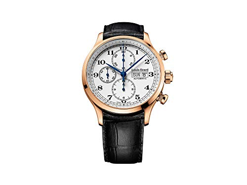 Louis Erard 1931 Automatic Watch, PVD Rose Gold, White, Leather, 78225PR01.BRC02